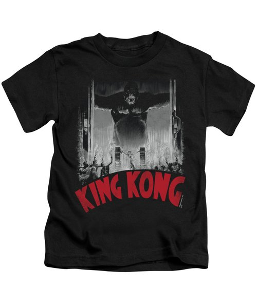 King Kong - At The Gates Poster Kids T-Shirt
