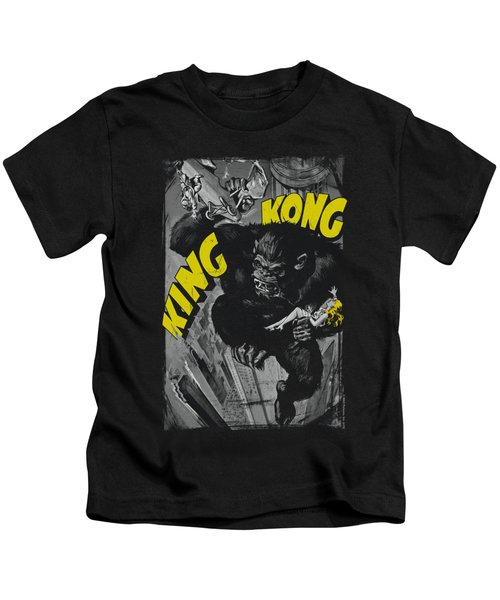 King Kong - Crushing Poster Kids T-Shirt