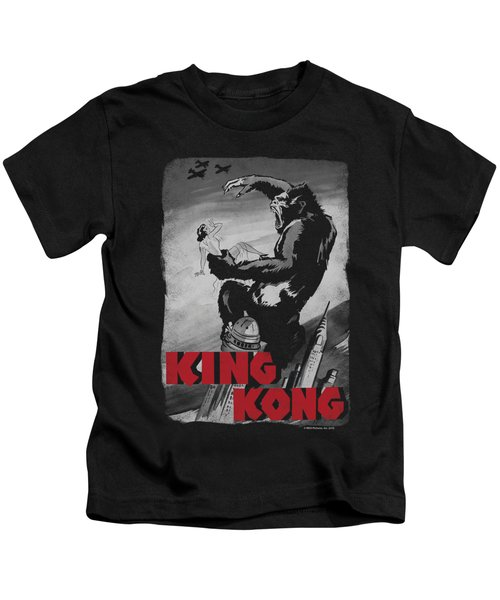 King Kong - Planes Poster Kids T-Shirt by Brand A