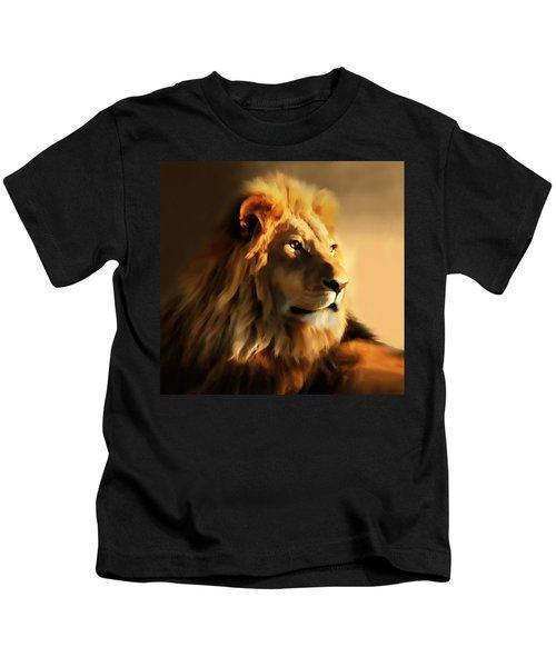 King Lion Of Africa Kids T-Shirt