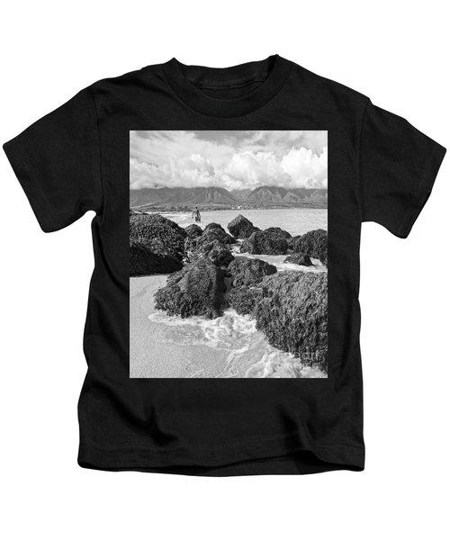 Kite Beach Maui Hawaii Kids T-Shirt