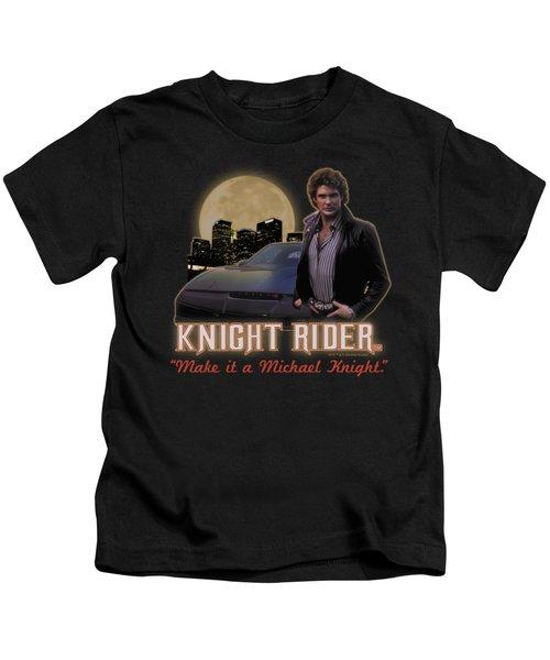 Knight Rider - Full Moon Kids T-Shirt