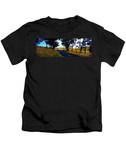 Kohala Mountain Road  Big Island Hawaii  Kids T-Shirt