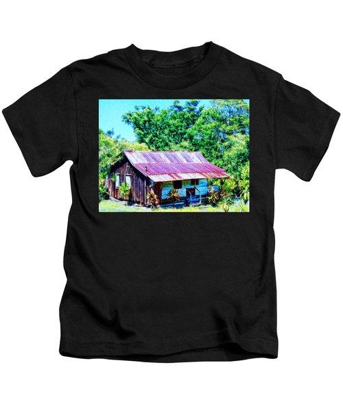 Kona Coffee Shack Kids T-Shirt