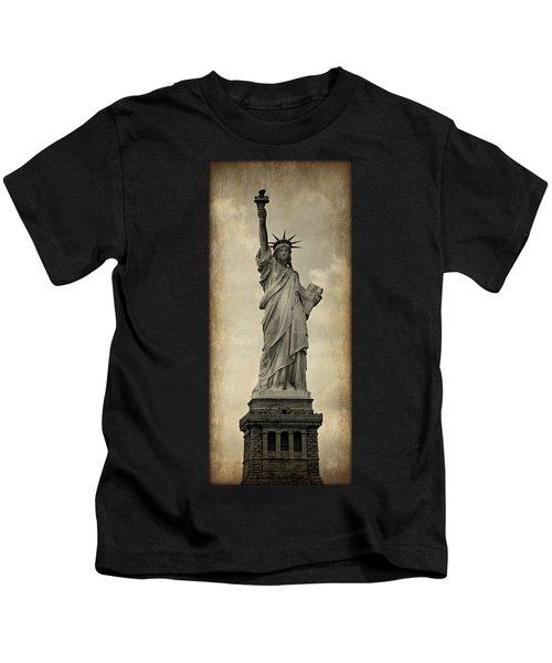 Lady Liberty No 11 Kids T-Shirt