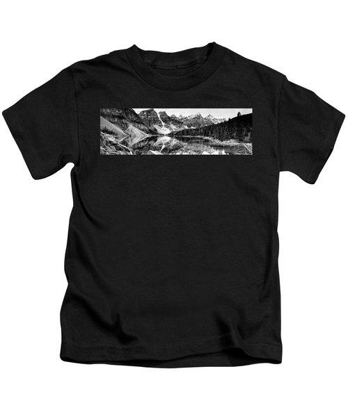 Lake Moraine Reflection Kids T-Shirt