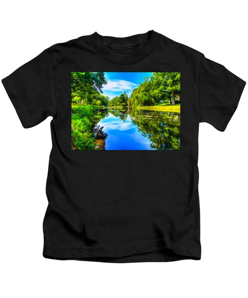 Lake Scene Kids T-Shirt