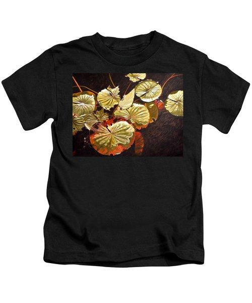 Lake Washington Lily Pad 11 Kids T-Shirt