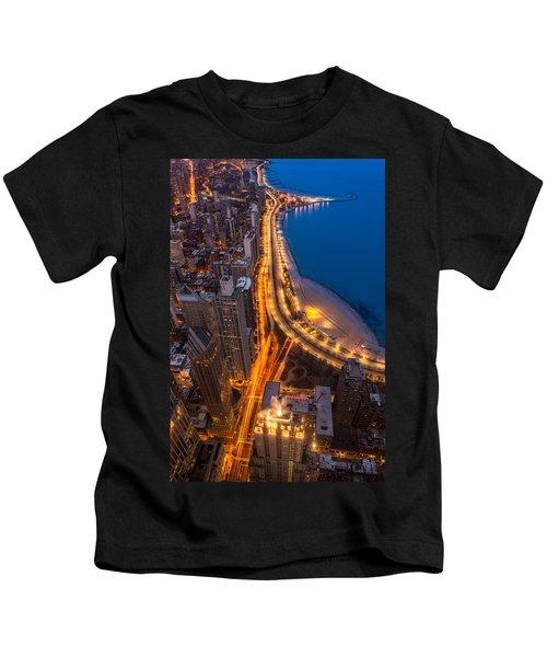 Lakeshore Drive Aloft Kids T-Shirt