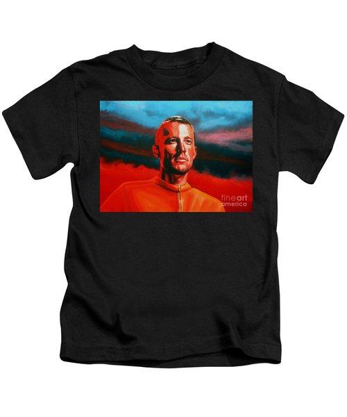 Lance Armstrong 2 Kids T-Shirt