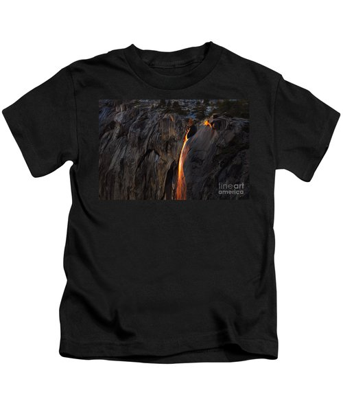 Lava Flow Kids T-Shirt