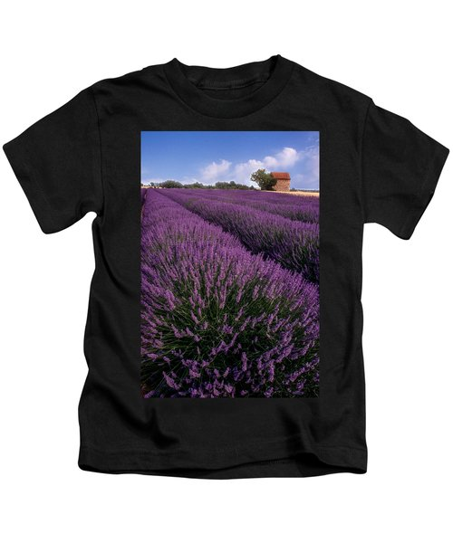 Lavender In Provence Kids T-Shirt