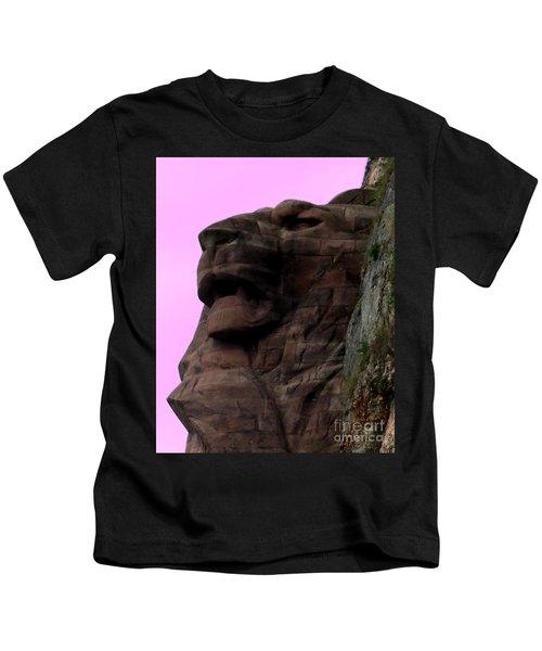 le Lion de Bartholdi Kids T-Shirt