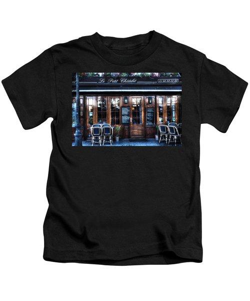 Le Petit Chatelet Paris France Kids T-Shirt