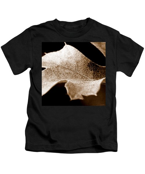 Leaf Collage 1 Kids T-Shirt
