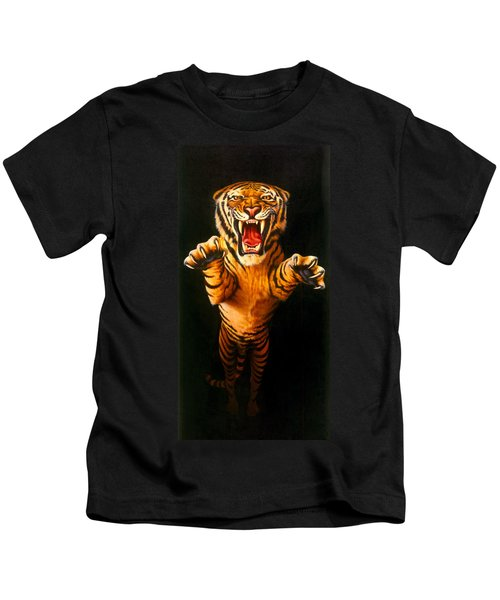 Leaping Tiger Kids T-Shirt