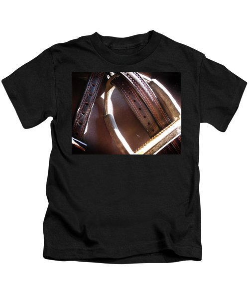 Leather And Iron Kids T-Shirt