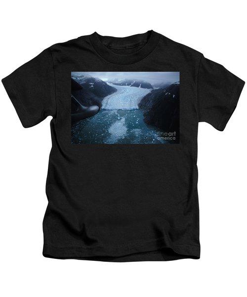 Leconte Glacier, Alaska Kids T-Shirt