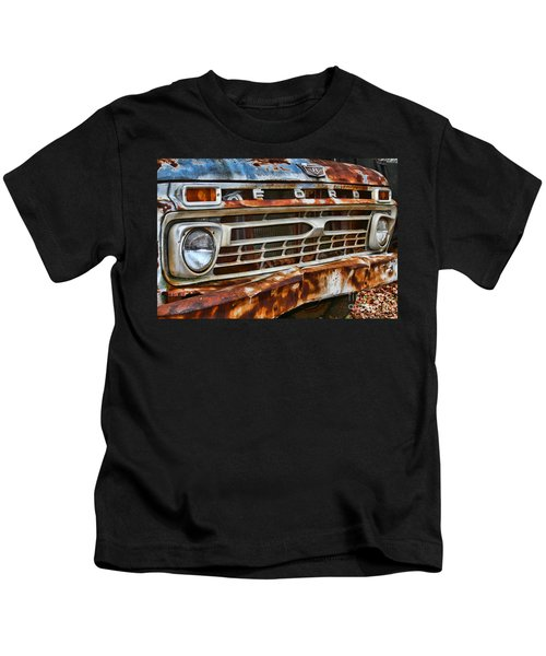 Left To Rust By Diana Sainz Kids T-Shirt
