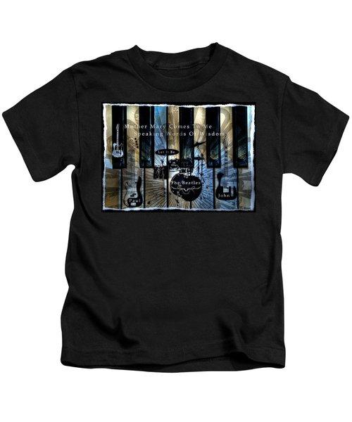 Let It Be Tone Mapped Kids T-Shirt