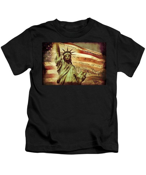 Declaration Of Independence Kids T-Shirt