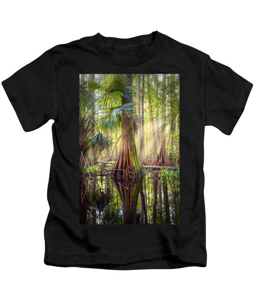 Light In The Hammock Kids T-Shirt