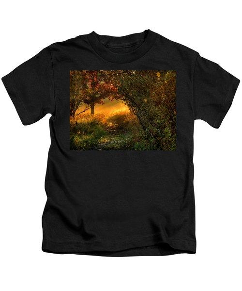 Lighted Path Kids T-Shirt