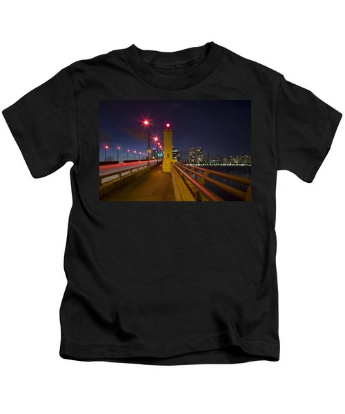 Lights At Night Kids T-Shirt