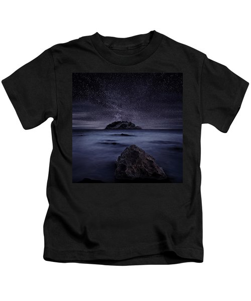 Lights Of The Past Kids T-Shirt