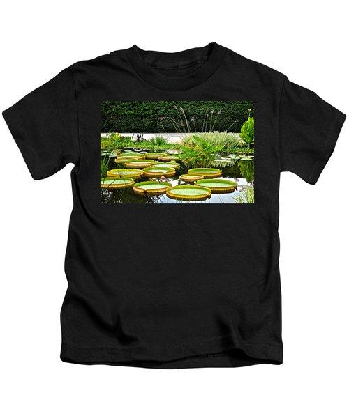 Lily Pad Garden Kids T-Shirt