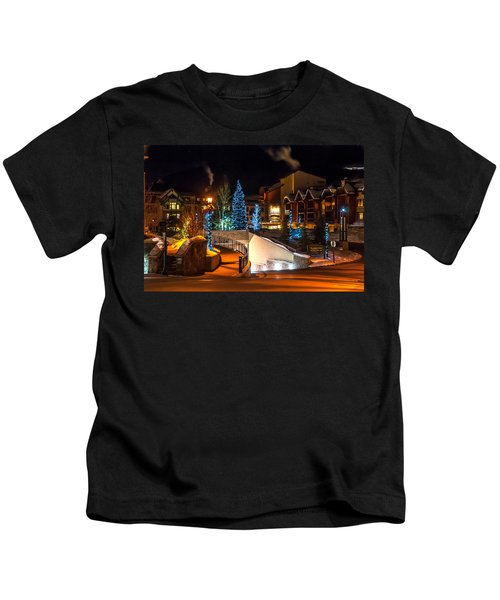 Lions Head Village Vail Colorado Kids T-Shirt