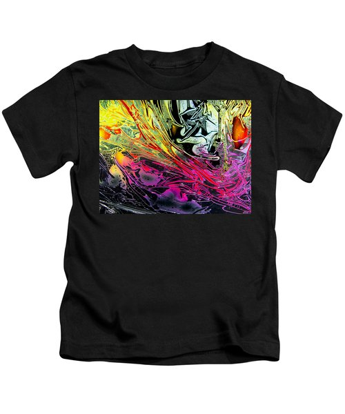 Liquid Decalcomaniac Desires 1 Kids T-Shirt