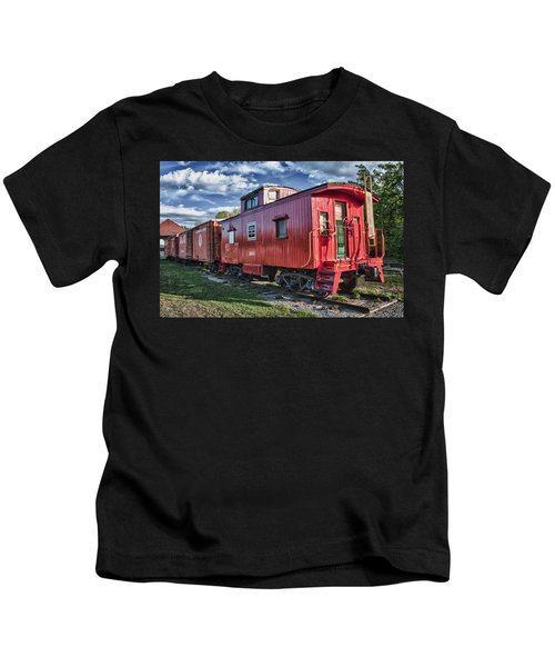 Little Red Caboose Kids T-Shirt