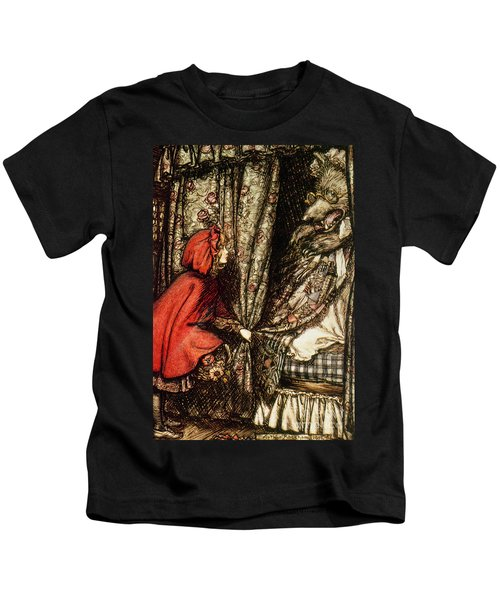 Little Red Riding Hood Kids T-Shirt