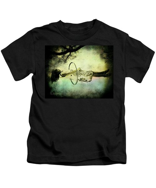 Living In The Fear Kids T-Shirt