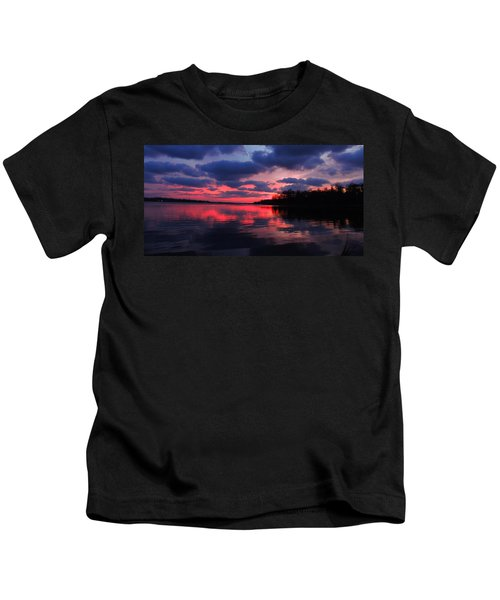 Locust Sunset Kids T-Shirt