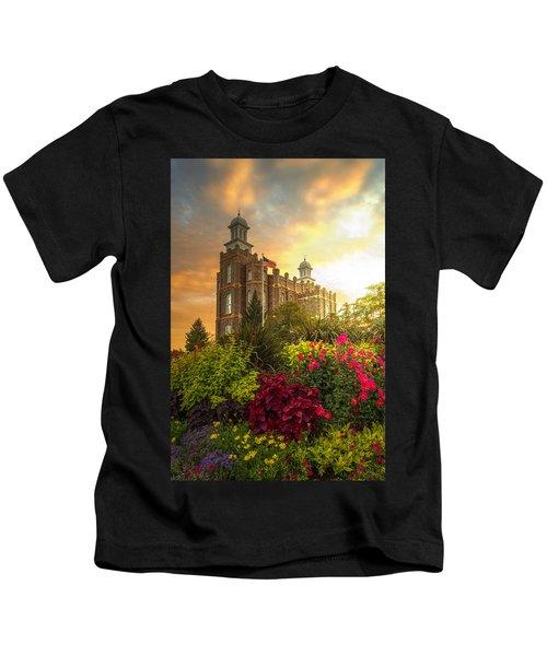 Logan Temple Garden Kids T-Shirt