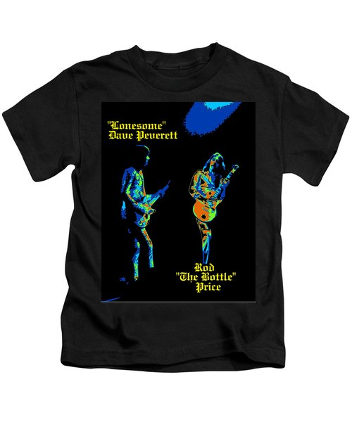 Lonesome Dave And Bottle Rod Kids T-Shirt