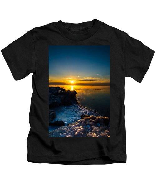 Long Cold Winter II Kids T-Shirt