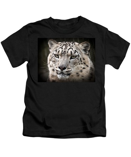 Look Into My Leopard Eyes Kids T-Shirt