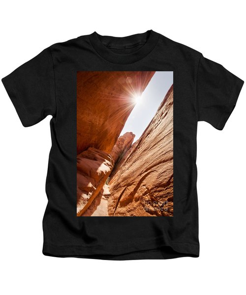 Looking For Sand Dune Arch Kids T-Shirt