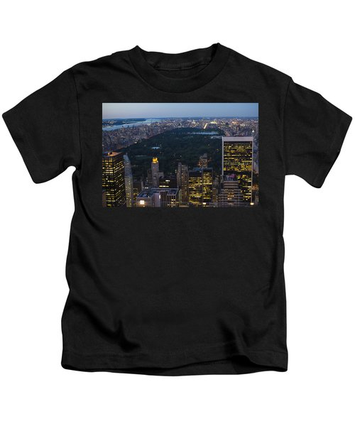 Looking From Top Of The Rock Kids T-Shirt