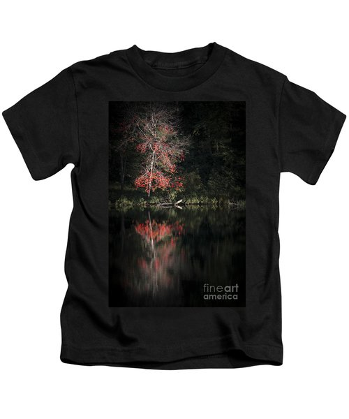 Lost In The Autumn Of Eternity Kids T-Shirt