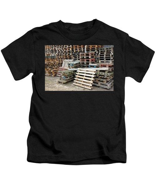 Lots Of Pallets Kids T-Shirt