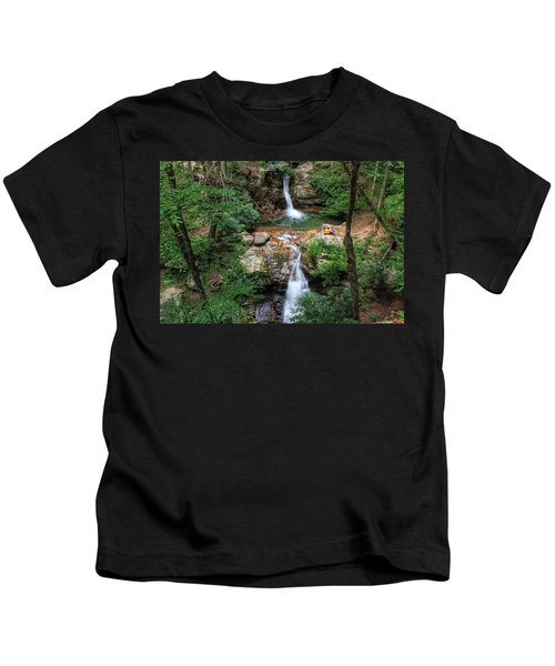 Love At The Blue Hole Kids T-Shirt