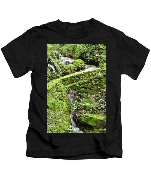 Lovely Waterfall Kids T-Shirt