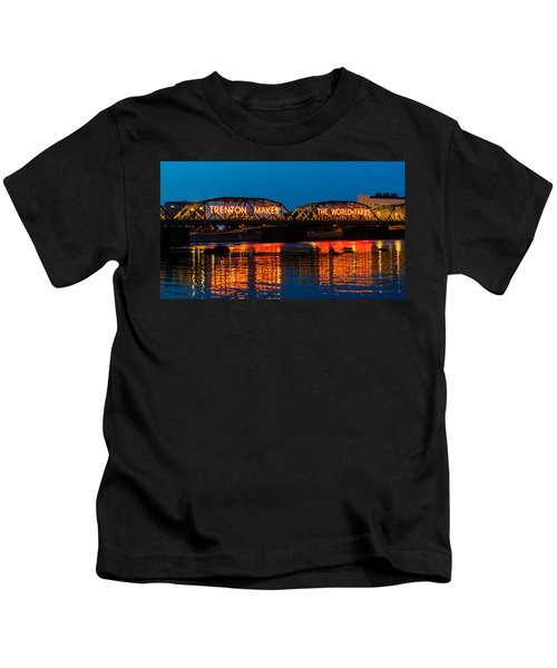 Lower Trenton Bridge Kids T-Shirt