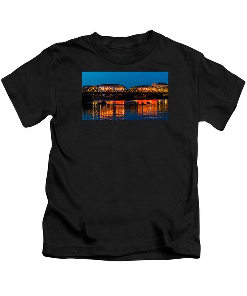 Lower Trenton Bridge Kids T-Shirt