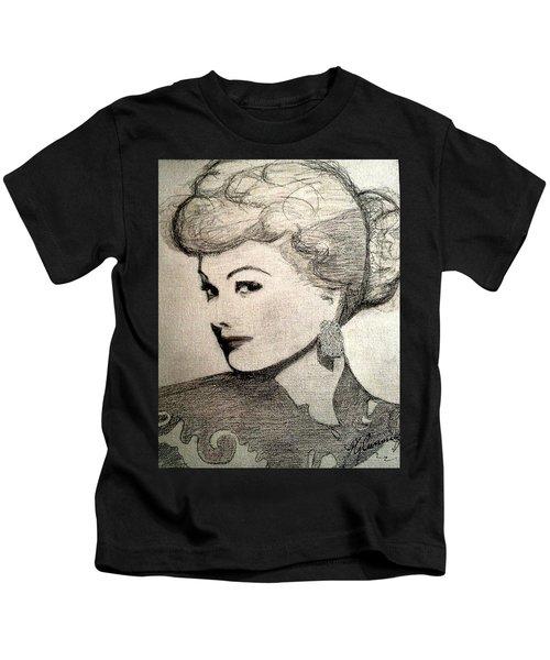 Lucille Ball Kids T-Shirt