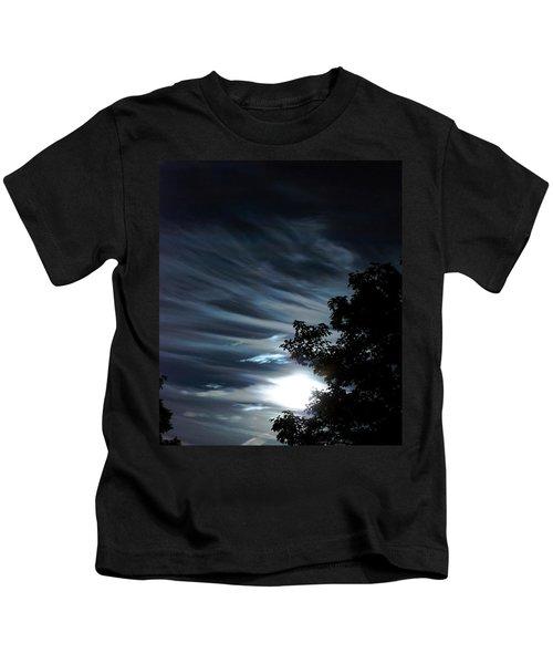 Lunar Art Kids T-Shirt